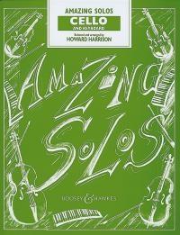 Amazing Solos: Cello & Piano (harrison) (Boosey & Hawkes)