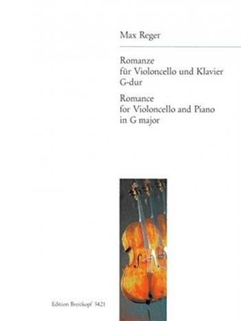 Romanze In G: Cello & Piano (Breitkopf)