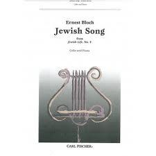 Jewish Song: Cello & Piano (Carl Fischer)