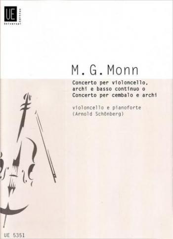Concerto: G Minor: Cello   (Universal)