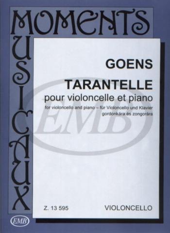Tarantelle: In A Minor Op24: Cello & Piano (EMB)