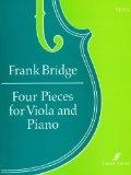 Four Pieces: Cello & Piano (cradle Song) (Faber)