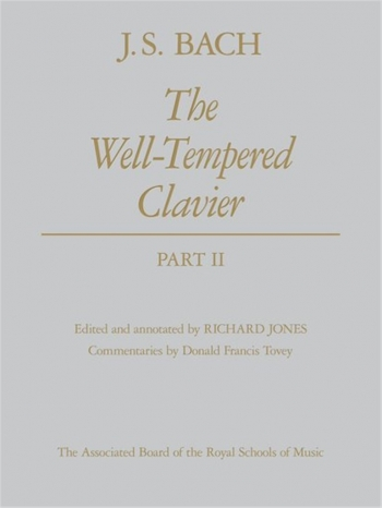 Well-Tempered Clavier Vol.2: Hardback: Piano (ABRSM)