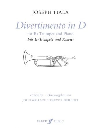 Divertimento In D: Trumpet and Piano (Faber)