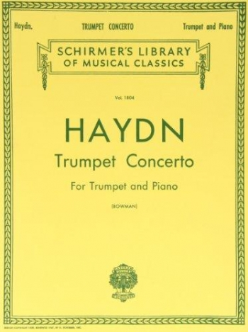 Trumpet Concerto: Bb: Trumpet and Piano