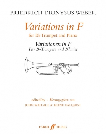 Variations In F: Trumpet & Piano (Faber)