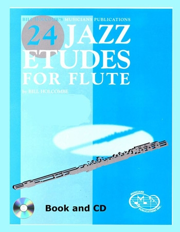 24 Jazz Etudes: Cd Only: Flute (Holcombe)