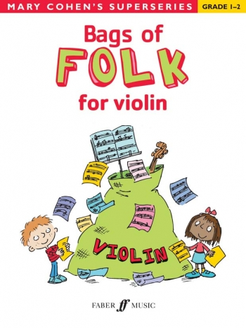 Bags Of Folk: Violin Solo: Superseries: Beginner (Cohen)