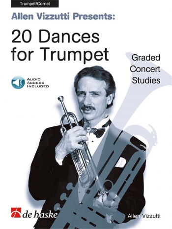 20 Dances For Trumpet: Studies Book & CD (De Haske)
