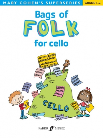 Bags Of Folk: Cello Solo: Superseries (Cohen)  (Faber)