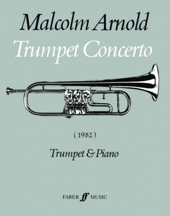 Concerto Op.125: Trumpet and Piano (Faber)