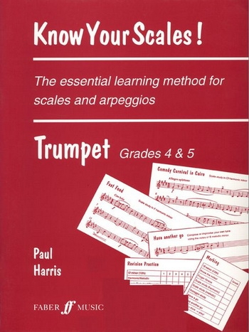 Know Your Scales: Grade 4-5: Trumpet (Harris)