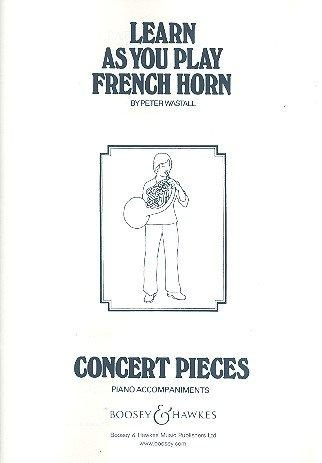 Learn As You Play French Horn: Piano Accompaniment