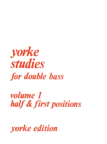 Studies: Vol.1: Double Bass: Studies