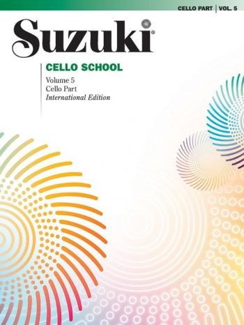 Suzuki Cello School: Part 5: Cello Part