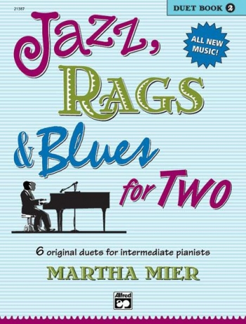 Jazz Rags & Blues For Two Book 2 Piano Duet (mier)