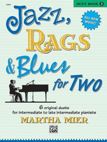 Jazz Rags & Blues For Two Book 3 Piano Duet (mier)