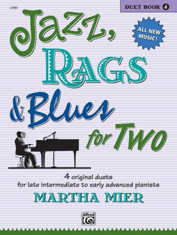 Jazz Rags & Blues For Two Book 4 Piano Duet (mier)