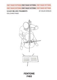 First Finger Patterns: Cello(Fentone)