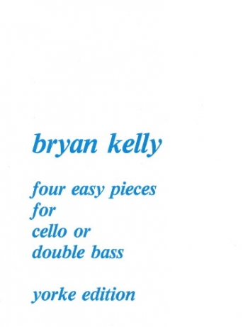 4 Easy Pieces: Cello Or Double Bass & Piano (Yorke)