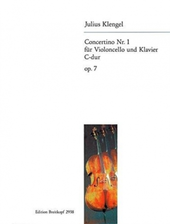 Concertino: Op7: No.1: Cello & Piano (Breitkopf)