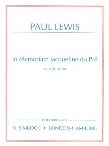In Memoriam Jacqueline Du Pre: Cello