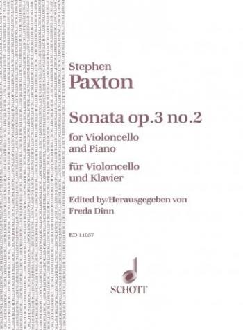 Sonata: Op3/2: Cello (Schott)