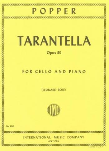 Tarantella: Op33: Cello & Piano  (International)