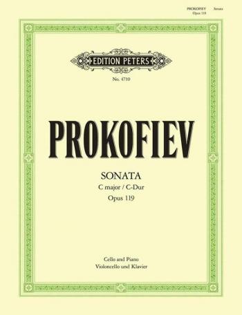 Sonate: C Major: Op119: Cello & Piano (Peters)