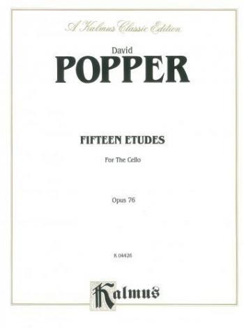 15 Etudes: Op76: (2 Cellos)