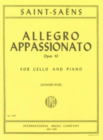 Allegro Appassionato: Op43: Cello (International)
