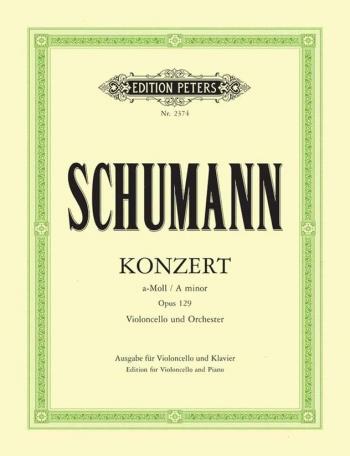 Concerto: A Minor: Op129: Cello & Piano (Peters)