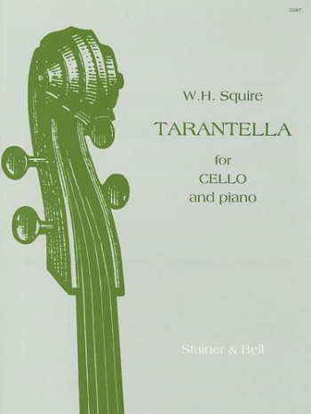 Tarantella: Cello & Piano  (Stainer & Bell)