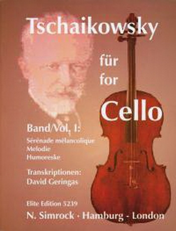 Tchaikovsky For Cello: Vol.1