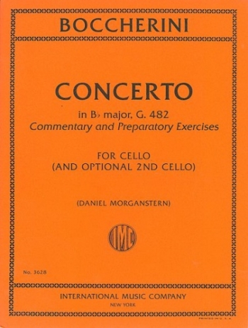 Cello Concerto Bb Major G482: Cello & Optional Second Cello (International)