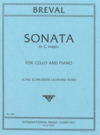 Sonata C Major Op.40/1: Cello & Piano (International)