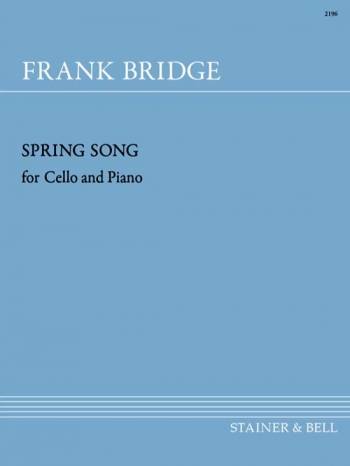 Spring Song: Cello & Piano  (Stainer & Bell)