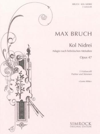 Kol Nidrei Adagio On Hebraic Themes: Op47: Cello
