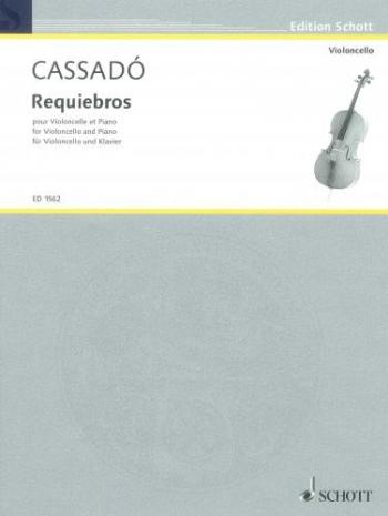 Requiebros: Cello & Piano (Schott)