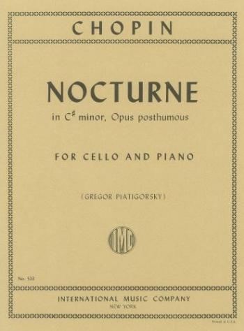 Nocturne C# Minor Cello & Piano (International)