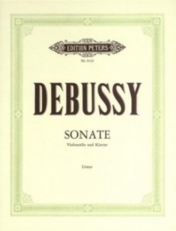 Sonata: Cello & Piano (Peters)