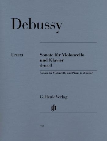 Sonata: D Minor: Cello (Henle)