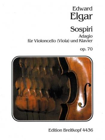 Sospiri: D Minor: Op70: Cello & Piano (Breitkopf)