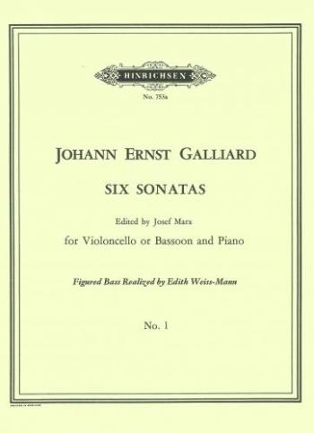 6 Sonatas: 1: A Minor: Cello & Piano
