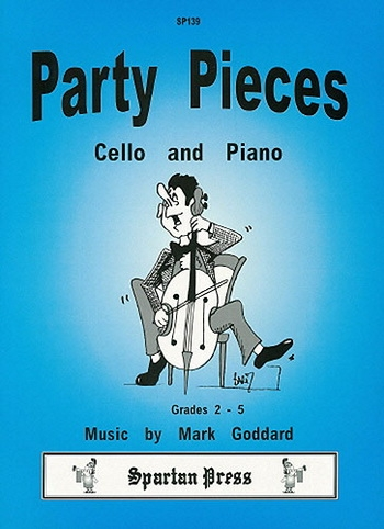 Party Pieces: Cello & Piano (goddard) (Spartan)
