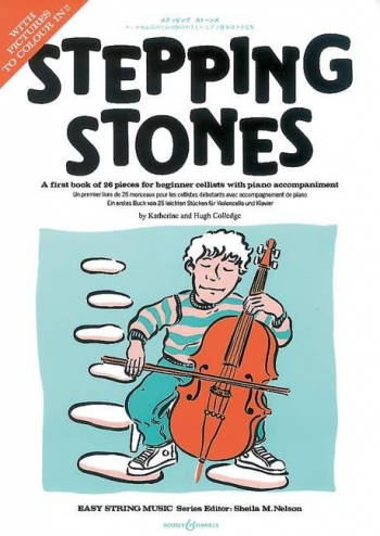 Stepping Stones: Cello & Piano: Complete (colledge) (Boosey & Hawkes)