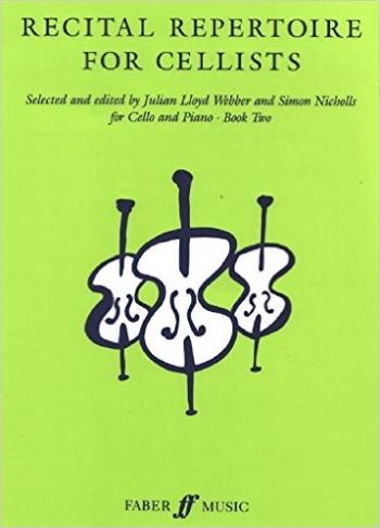 Recital Repertoire For Cellists Book 2 Cello & Piano Archive Edtion(Faber)