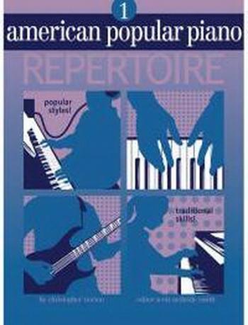 American Popular Piano: 1: Repertoire