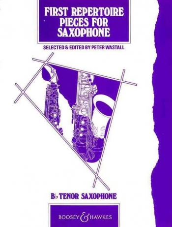 First Repertoire Pieces For Saxophone