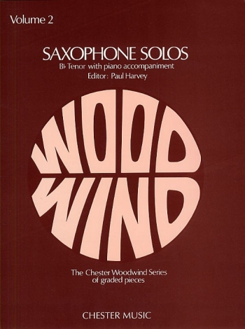 Saxophone Solos: 2: Tenor Saxophone